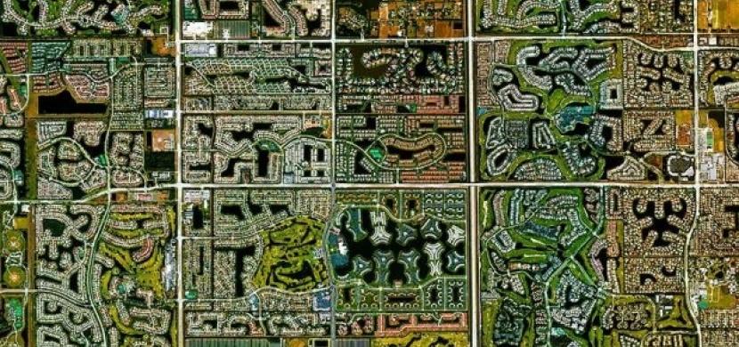 Daily Overview: 20 pohledů na Zemi z ptačí perspektivy